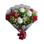 Buquê Puro Amor 8 Rosas (Ofera Imbativel)