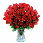 Exuberante Amor 100 Rosas