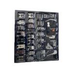Kit 32 Calcadores Para Máquina de Costura Doméstica