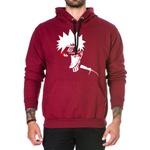Blusa de Moletom Canguru Vermelho Escuro Naruto