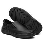 Sapato Ortopédico Preto Com Elástico