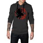Blusa de Moletom Cinza Escuro Dragon Ball