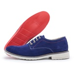 Sapato Polo Full Casual Azul