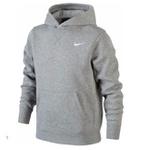 Blusa Moleton Nike Classic Unissex C/ Capuz Casaco De Frio Cinza