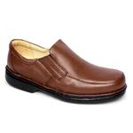 Sapato Masculino Conforto Cor Chocolate