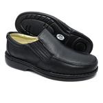 Sapato Masculino Conforto Cor Preto