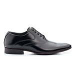 Sapato Social Clássico em Couro Legitimo Cor Preto