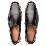 Sapato Mocassim Florenza Em Couro Preto
