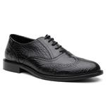 Sapato Oxford Brogue Austrália Preto