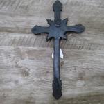 Crucifixo Resina -Medalha São Bento - 30 cm