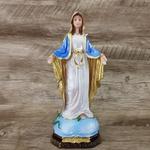 Imagem Resina - Nossa Senhora das Graças 20 cm