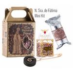 Kit Incenso N. Sra. de Fátima (Mini Kit + Incensário)