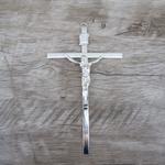 Crucifixo de Parede -Prata 11x18 (ref 15)