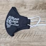 Máscara em Tecido - Maria Passa na Frente Preta
