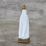 Imagem Resina - Nossa Senhora de Fátima 8 cm