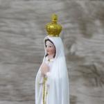 Imagem Resina - Nossa Senhora de Fátima 14 cm