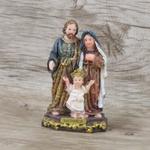 Imagem : Sagrada Família em Resina 9 cm