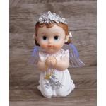 Anjinho com asa iluminada 15 cm - Branco