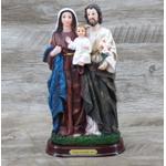 Imagem : Sagrada Família em Resina - 22 cm