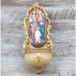 Imagem : Pia Sagrada Família em Resina - 22 cm