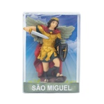 Imagem em Resina -São Miguel Arcanjo - 9,5 cm