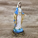 Imagem Resina - Nossa Senhora das Graças 15 cm