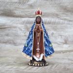 Imagem Resina - Nossa Senhora Aparecida 15 cm