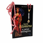 Kit Livro, Dezena e Cordão de Santa Filomena