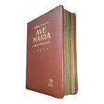 Bíblia Ave Maria - Edição Ilustrada - Média - Marrom