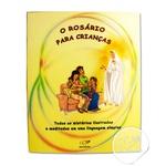 Livro Rosário para Crianças com Terço em Nylon