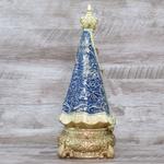 Imagem Resina - Nossa Senhora Aparecida 30 cm