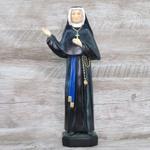 Imagem Gesso - Santa Faustina 32 cm