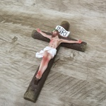 Crucifixo Resina - 20 cm