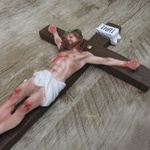 Crucifixo Resina - 40 cm