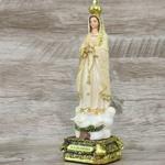 Imagem Resina - Nossa Senhora de Fátima 20 cm