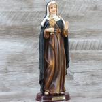 Imagem Resina - Santa Clara 30 cm
