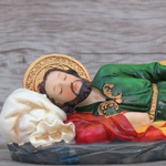 Imagem Resina - São José Dormindo 22 cm