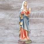 Imagem Resina - Imaculado Coração Maria 22 cm