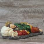 Imagem em resina - São José Dormindo - 30 cm