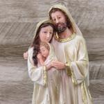 Imagem Resina - Sagrada Família 32 cm