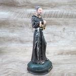 Imagem em Resina - São Padre Pio 15 cm