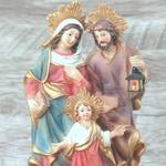 Imagem : Sagrada Família em Resina - 16,5 cm