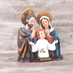 Imagem : Busto Sagrada Família em Resina - 19,3 cm