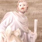 Imagem : Nossa Senhora Desterro Grávida / Sagrada Família -30 cm