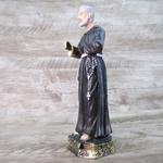 Imagem Resina - São Padre Pio Pietrelcina 20 cm