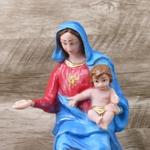 Imagem resina - Nossa Senhora Pompéia 30 cm