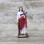Imagem Resina- Santa Catarina 12 cm