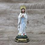 Imagem resina - Nossa Senhora de Lourdes 15 cm