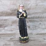 Imagem em resina - Santa Rita de Cássia 30 cm