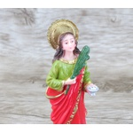 Imagem Resina - Santa Luzia 15 cm